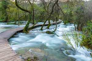 Wasserfälle in Kroatien von Peter Wierda