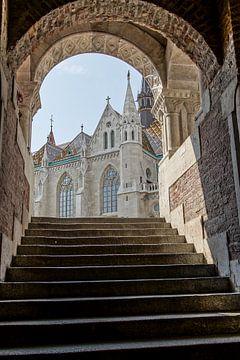 Matthias church in Budapest van