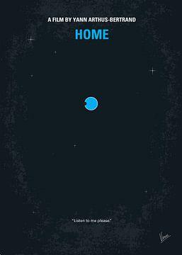 No037 My Home minimal movie poster van Chungkong Art