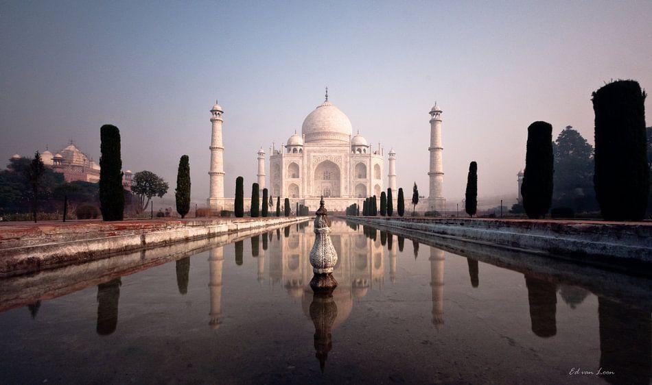 Taj Mahal van Ed van Loon