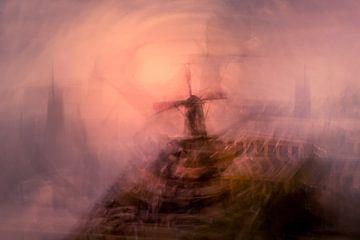 Landschaft mit Mühle von Kok and Kok