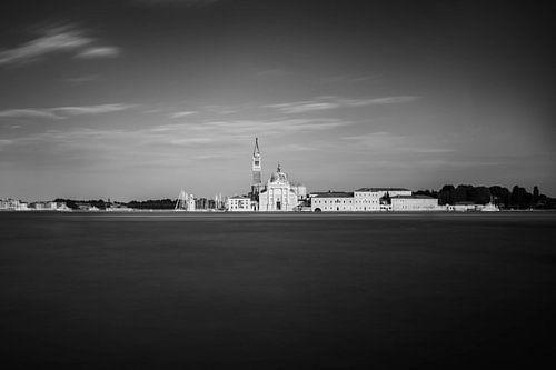 Venetië in zwart wit van