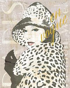 Fashion Week Paris II Screenprint, Sue Schlabach