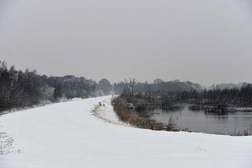 Winterlandschap van Tinus Tibbe