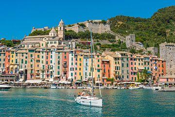 Portovenere, Cinque Terre, Italien von Richard van der Woude