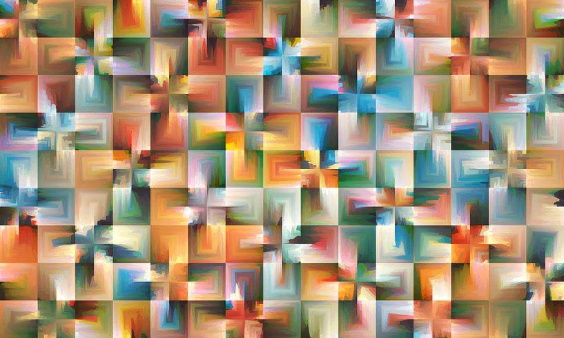 Abstrakt Nr.16 von Marion Tenbergen