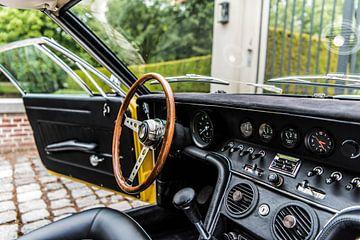 Innenraum eines wunderschönen Maserati Ghibli von Bas Fransen