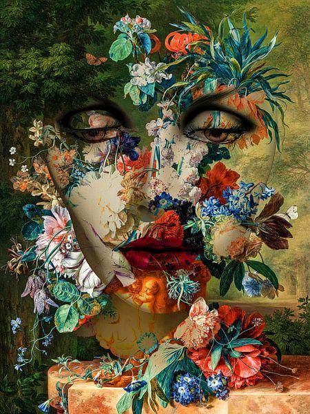 Rêver de fleurs sur Gabi Hampe