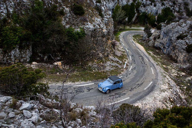 Cruisen met een 2CV in de Provence Frankrijk van Martijn Bravenboer