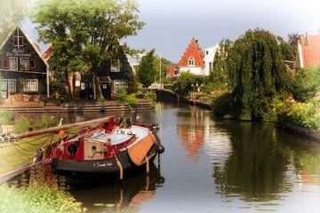 Edam Waterstad van Jan van der Knaap