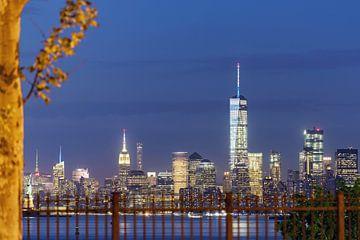 New York zur blauen Stunde van Kurt Krause