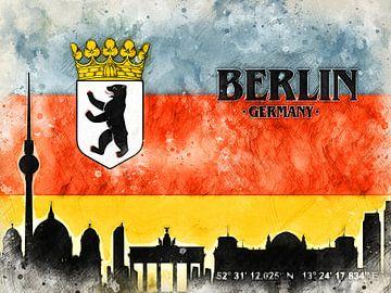 Berlin van Printed Artings