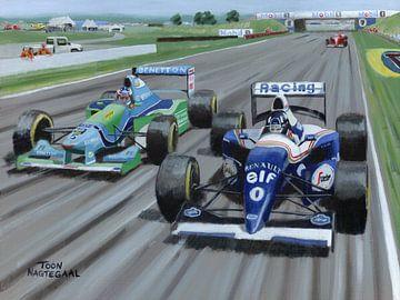 1994 Großer Preis von Großbritannien auf der Rennstrecke von Silverstone von Adam's World