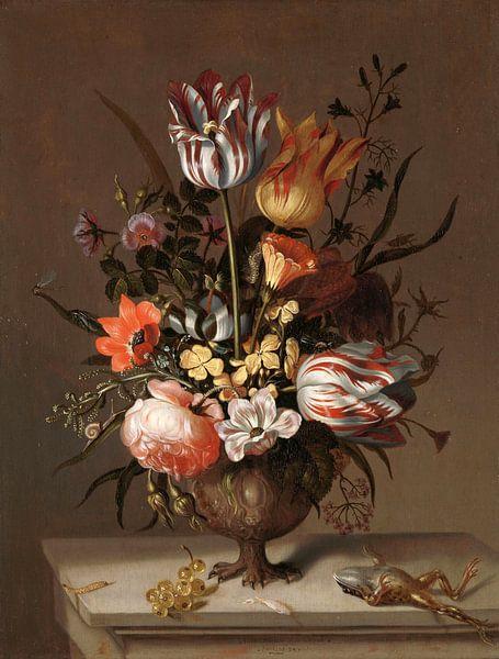 Stillleben mit Blumenvase, Jacob Marrel sur Het Archief