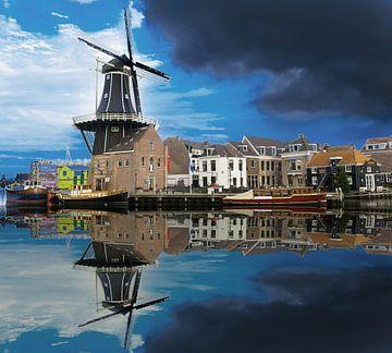 De Adriaan Haarlem in omweer van