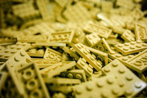 lego van Lego poppetje