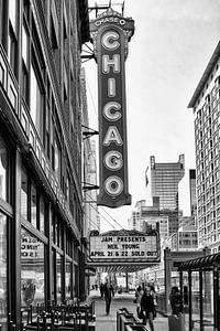 Enseigne de théâtre de Chicago