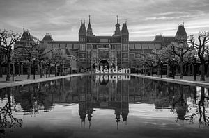 Rijksmuseum bij zonsopkomst