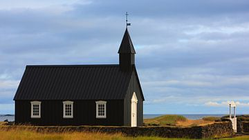Búðakirkja, Budir, Island, Island von Henk Meijer Photography