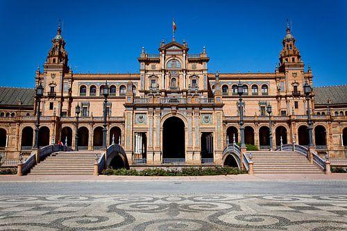 Koninklijk paleis in Sevilla van