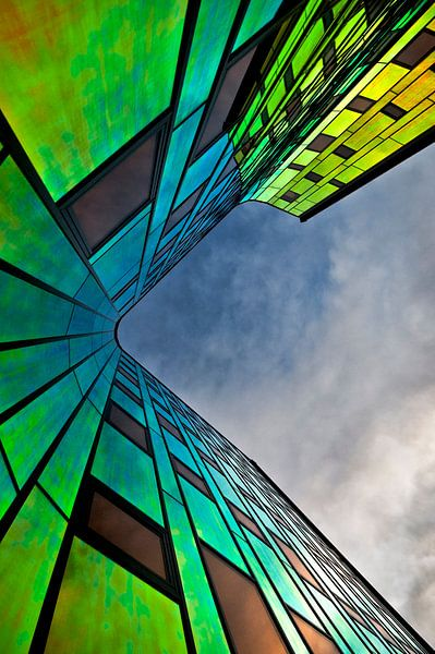 Rainbow Building van -Léon -