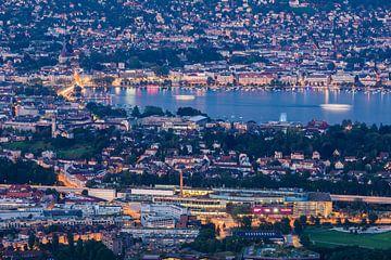 Zürich und der Zürichsee in der Schweiz von Werner Dieterich