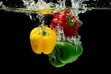Paprika kleurentrio van Christel Bekkers