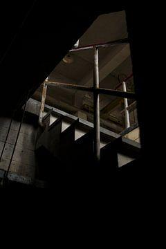 Een verlaten fabriek  van Melvin Meijer