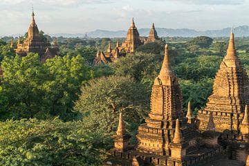 Bagan, Myanmar van Peter Schickert