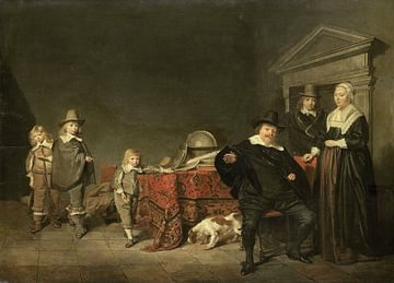 Familiegroep, Pieter Codde sur