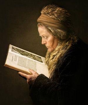 De Lezende Vrouw van Anita Meezen Fotografie