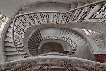 Lost Place - das Treppenhaus