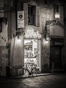 Florenz - Altstadt bei Nacht von Alexander Voss