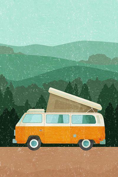 The Van Adventure von Goed Blauw