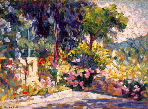 The Flowered Terrace, Henri Edmond Cross