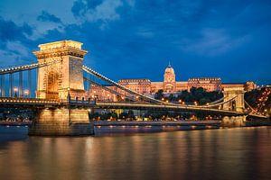 Buda Kasteel en Kettingbrug in Boedapest