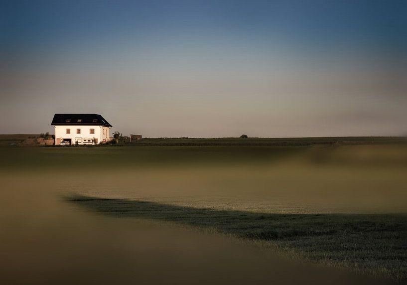 zomeravond landschap van Henk Speksnijder