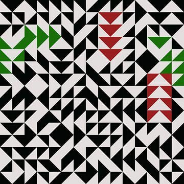 Composition abstraite 722 van Angel Estevez