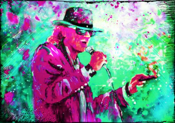 Udo Lindenberg LIVE ON STAGE POP ART PUR