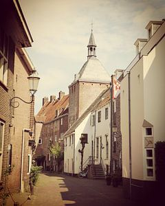 View of historical old town of Amersfoort, Netherlands