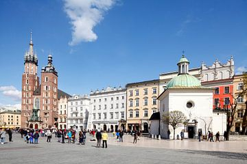 Marienkirche , Kleine Kirche, Hauptmarkt,  , Krakau, Polen, Europa