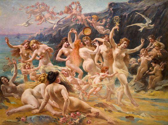 Der Tanz der Sirenen, Adolphe Lalyre (1848 1933, Frankreich)