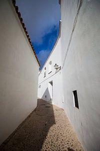 Witte dorpen in Andalusie (Arcos de la Frontera, Spanje) van