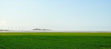 Windmühlen auf dem Land von Joris Louwes