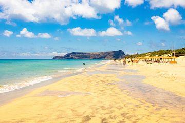 Strand van Porto Santo sur