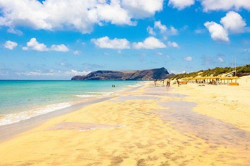 Strand van Porto Santo van