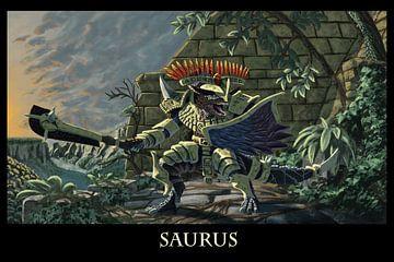 Saurus Warrior van Anouschka Hendriks