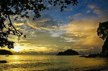 Kleurenexplosie bij Pulau Pangkor van Sven Wildschut