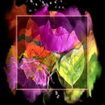 Bloemendroom 2 van Gertrud Scheffler