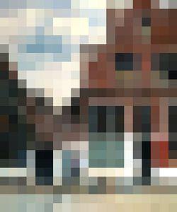 Pixel Art: Het Straatje van JC De Lanaye